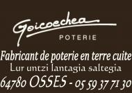 Poteries Goicoechea